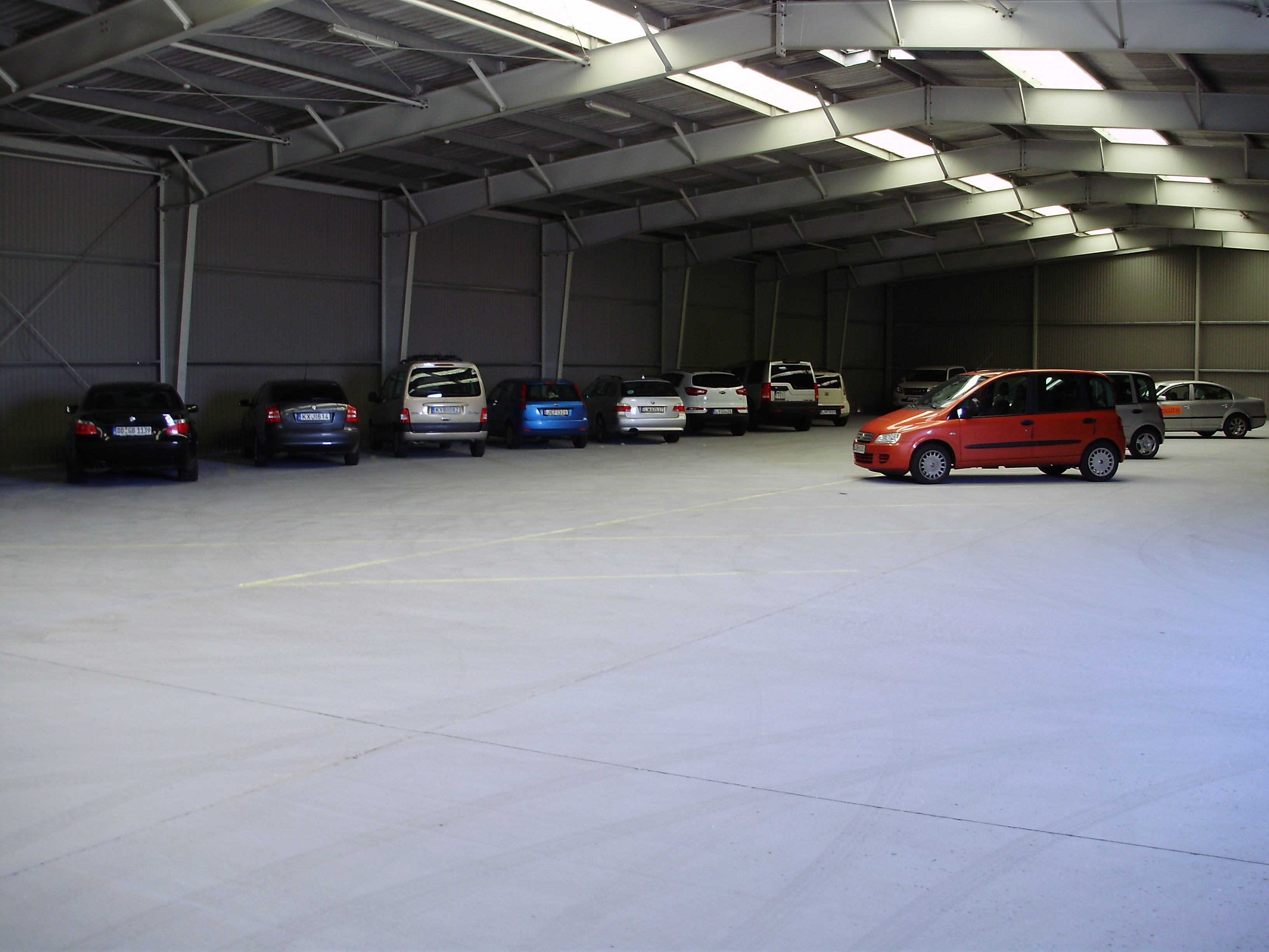 Reptéri parkoló, reptéri parkolás