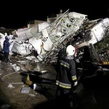 TransAsia baleset: 48-ra emelkedett az áldozatok száma